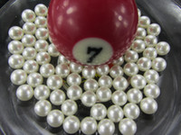 Wholesale loose plastic no hole pearl beads mm