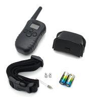 Wholesale New LCD LV Level M Pet Dog Training Collar Shock Vibra Vibrate Remote Control No Barking Anti