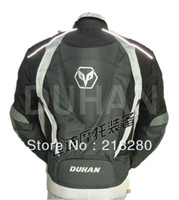Wholesale DUHAN hump motorcycle Jackets Motorcycle Jacket black jacket Grey Blue Red Jackets plus size M L XL