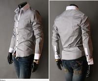 Casual best mens dress shirts - best selling shirt Mens Slim UK Luxury Stylish Tuxedo Shirts