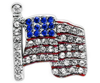 Medium american flag products - 10mm Luxury American Flag Slide Charm DIY Dog Cat Pet Collar Slide Charm Pet Accessory Pet Fashion Pet Product