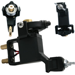 Newest Professional Rotray Tattoo Machine Gun For Shader Liner Tattoo Needle Ink Cups Tips Kits