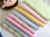 Wholesale Pack Baby Soft Bath Towel Washcloth Wipe x cm Bathing Feeding Wipe Cloth