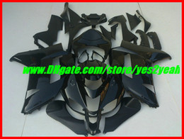 Fairing body kit For KAWASAKI Ninja ZX6R 07 08 ZX-6R Bodywork ZX 6R 636 2007 2008 gloss black Fairings set