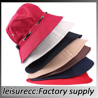 Wholesale Summer necessary men and women with the outdoor sun hat lady sun beach fisherman hat