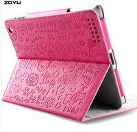 Wholesale Leather Degree Rotating Case Cover FOR ipad2 ipad3 ipad4 protect case lovers fashion
