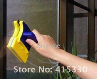 Wholesale In stock Magnetic Window Cleaner Double Side Glass Wiper Cleaner Surface Useful Brush New