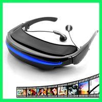 Wholesale 4GB quot Virtual Screen Cinema Eyewear Mobile Theatre Video Glasses for ALLA