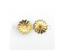 Wholesale goldplated beads cap