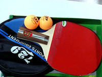 Wholesale official original A short handel finished product Table Tennis Rackets