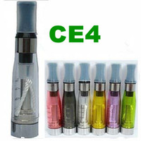 Wholesale Electronic Cigarette atomizer ml ego t ce4 Cartomizer E cigarette clearomizer