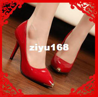 Wholesale 2013 Fashion Brand Sexy Women High Heel Pumps And Women Red Bottom Pumps Shoes