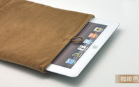 Wholesale 7 inches Flannelette bag samsung P1000 ipad ipad IPADMINI tablets