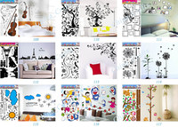 Wholesale Cartoon Wall Stickers Kids Room Wall Decor Tree Wall Stickers Bedroom Stickers Wall Decals