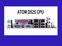 Wholesale ITX mini Atom D525 motherboard with Com and Sata