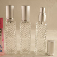 Wholesale 12ml Elegant Perfume Bottles Glass Vials Atomizer Sprayers Glass Vases for Essential Oil Shop