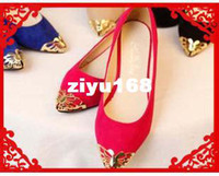 Wholesale 2013 New Brand Fashion Vintage Flat Wedge Shoes For Women Rhinestones Sandals And Women Flats Shose