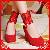 Wholesale 2013 Fashion Brand Sexy Women Party Wedge High Heel Pumps And Ladies Shoes Colors