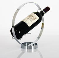 Wholesale Creative Round Wine Holder Bottle Rack Wine Holders Barware