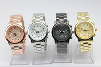 Wholesale Luxury Stainless Watch Gold watches eyes Mens wristwatch women Calendar watch best price