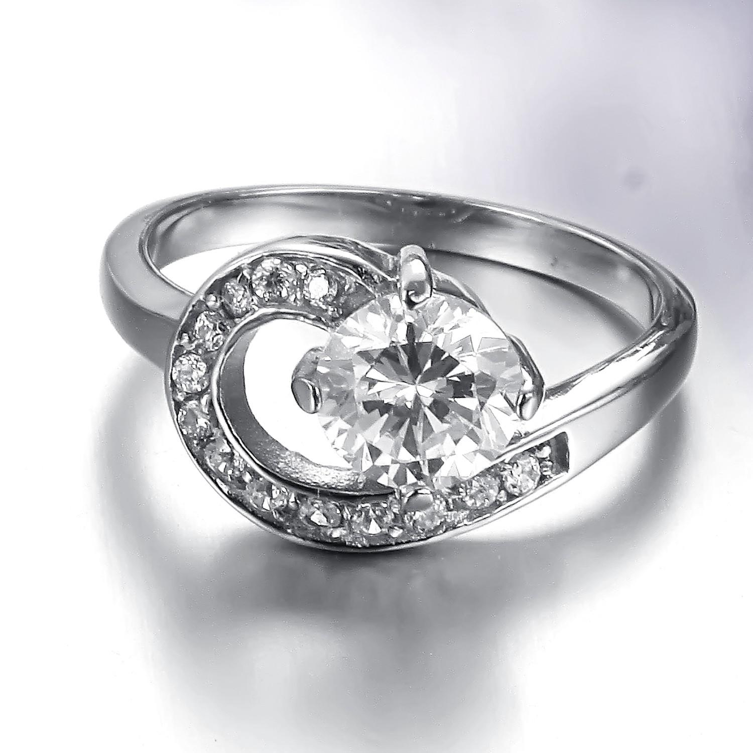 Wedding Rings Pictures Crystal Wedding Ring