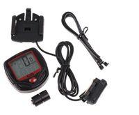 Wholesale 2014 New Arrival Waterproof LCD Cycling Bike Bicycle Computer Odometer Speedometer