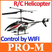 Wholesale New arrival Wifi Control CH HD Camera RC Helicopter Gyro dropshipping