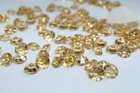 Wedding acrylic vases weddings - Champagne mm Carat Acrylic Crystal Diamond Confetti Wedding Table Vase Decoration