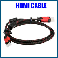 Wholesale 1 M Mini HDMI Cable for Digital Audio Video Cable P D LCD HDTV HDMI Android Tablet PC Laptop