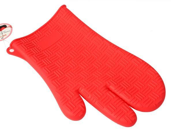 Silicone gloves oven mitt pot holder potholder pliable glove 17x27cm free by fedex kitchenaid - Kitchenaid oven gloves ...