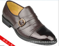Wholesale 2013 Hot Spring autumn fashion blend decoration genuine leather Charming Mens Business leather Shoes