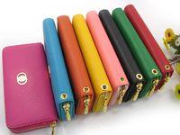 Wholesale Litchi Grain Soft PU Leather Wallet Purse Clutch Hand Bag WOMEN PU Leather Handbags Totes