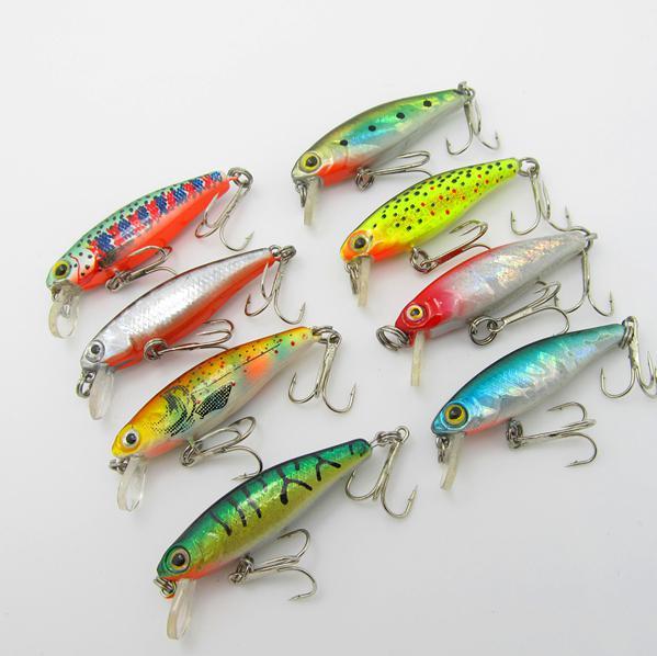 outdoor sports fishing mini light minuoluya bait fishing lures, Soft Baits