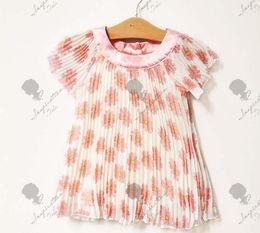 Wholesale Summer girls clothes Year baby dress fresh chrysanthemum bouffancy kids dress chiffon skirt