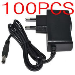 100PCS AC Converter Adapter DC 5V 2A 5V 1.5A 9V 1A 12V 1A 12V 500mA Power Supply Charger EU plug