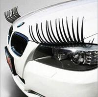 car parts - Super Cute Car Stickers Automotive Eyelashes Car Accessories D Eyelash Auto Parts