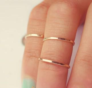 Cheap Fashion Rings Online Hot Fashion Mid Knuckle