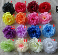 Wholesale 100p New Arrival Silk Artificial Flower Single Peony Rose Camellia Wedding Christmas cm Colours