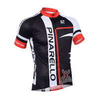 Wholesale 2013 Pinarello Cycling Jersey Mens Summer Breathable Bike Compression Shirt Pinarello Road Cycling Clothing Black