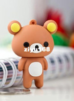 Wholesale M Hot Cartoon Couple teddy bear GB GB GB GB GB USB Flash Memory Stick Drive