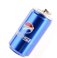 Wholesale M10 Fashion Cute m amp m Bule Pepsi cans GB GB GB GB GB USB Flash Memory Drive Sti