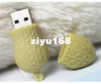 Wholesale M Hot Cartoon Peanut model GB GB GB GB GB USB Flash Memory Stick Drive Thum