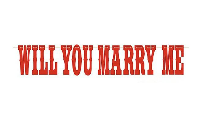 2013 New WILL YOU MARRY ME Wedding Banner Wedding Photo ...
