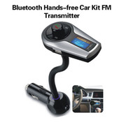 Wholesale Bluetooth car dvr Hands free Car Kit FM Transmitter M mp3 player mp4player