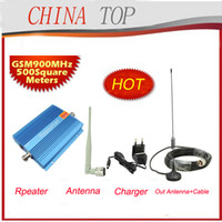 GMS 900MHZ   Brand New! Cable+Antenna 500square meter, 900Mhz Amplifier Mobile Phone Booster, GSM Signal Repeater