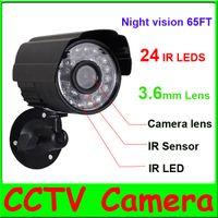 Wholesale 1 CMOS TVL IR LEDs CCTV Outdoor Security Camera Weatherproof Day Night Vision Surveillance