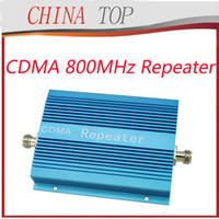 Wholesale 2013 New UP TO square meter work CDMA MHZ Mobile Phone Signal Amplifier Repeater Booster