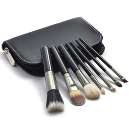 Wholesale black high quality Professional Makeup Cosmetic Brush set Kit Case H1078A