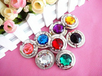 Wholesale 8x Crystal Folding handbag hanger purse bag hook holder