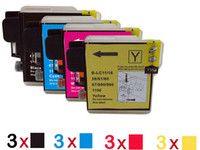Brother lc - 12 ink Cartridges for Brother LC MFC CN MFC CW MFC CW